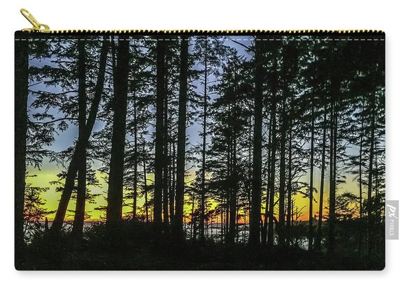 Sunset Thru The Trees Carry-all Pouch