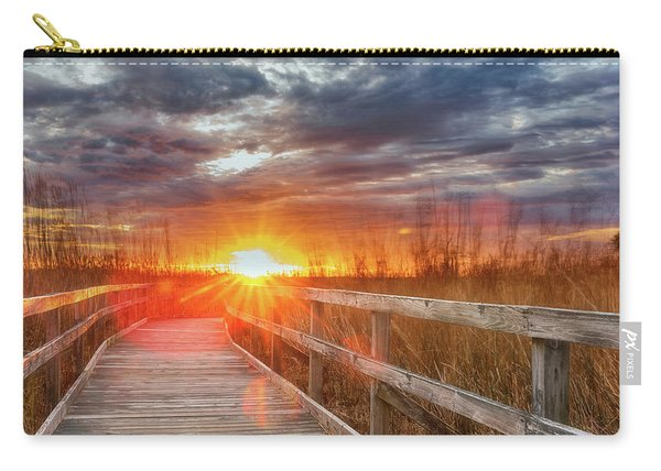 Sunset Walk Carry-all Pouch