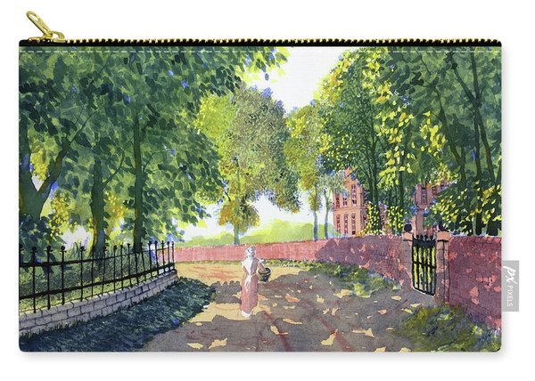 Sunshine And Shadows Carry-all Pouch