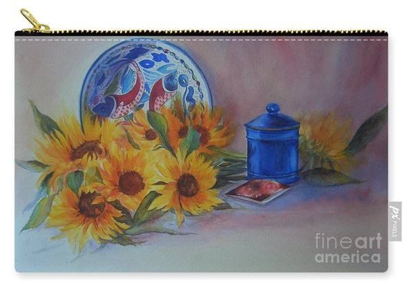 Sunshine In The Kitchen Carry-all Pouch