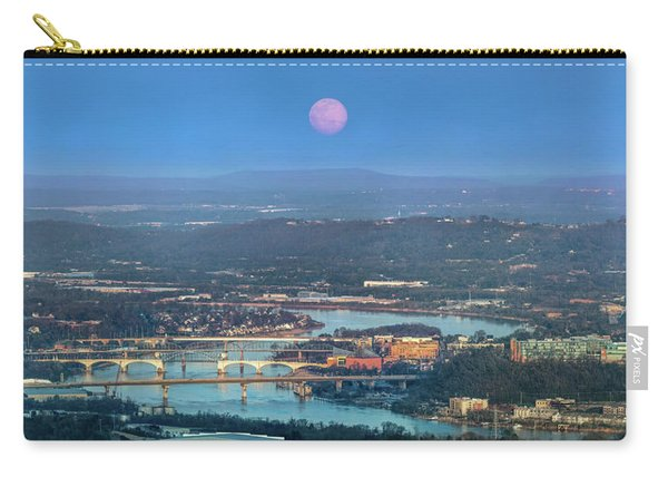 Super Moon Over Chattanooga Carry-all Pouch