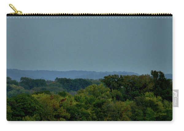 Supermoon On The Mississippi Carry-all Pouch