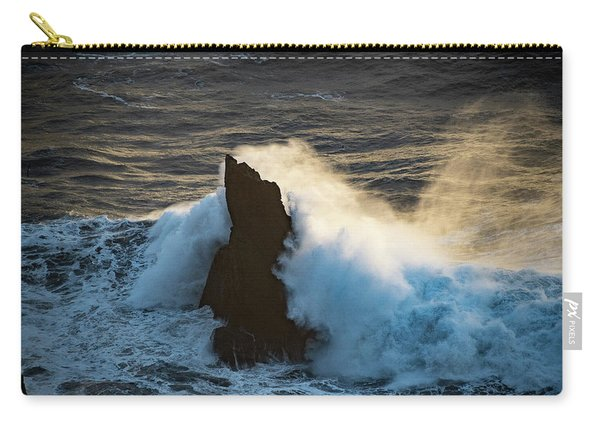 Surf At Sunset Carry-all Pouch