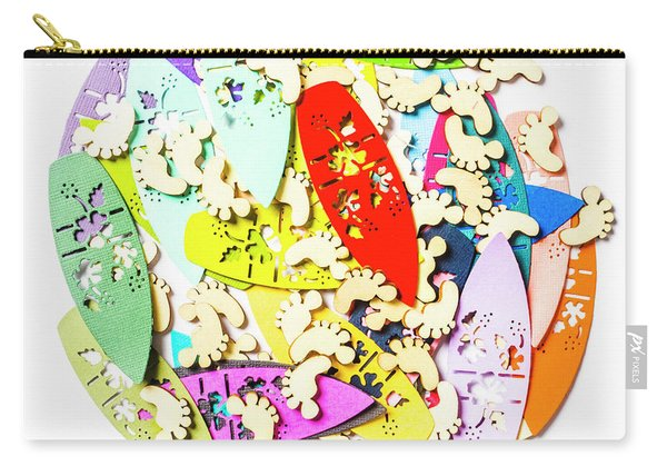 Surf Globe Trotters  Carry-all Pouch