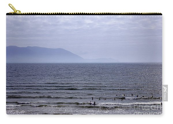 Surfers At Inch Beach Carry-all Pouch