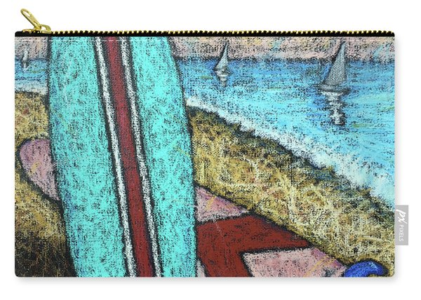 Surfing And Sailing Carry-all Pouch