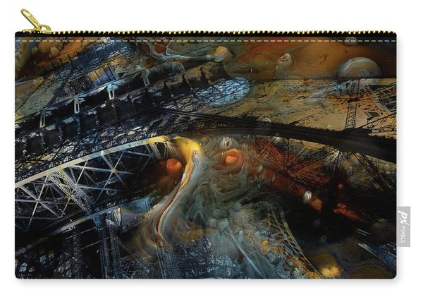 Surreal Eiffel Paris France Carry-all Pouch