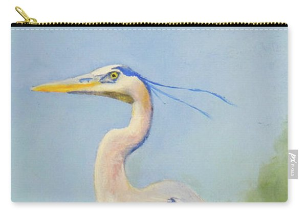 Surveyor - Great Blue Heron Carry-all Pouch