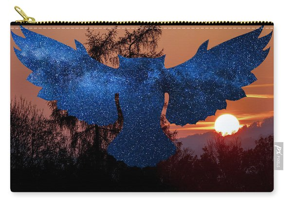 Sunset Owl Carry-all Pouch