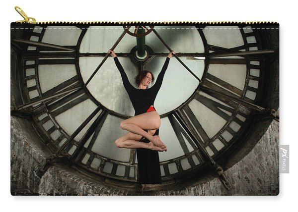 Carry-all Pouch featuring the photograph Suspended Time by Dennis Dame