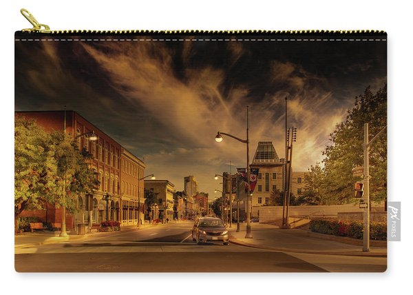 Carry-all Pouch featuring the photograph Sussex Dr by Juan Contreras