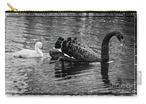 Swan And Signet Carry-all Pouch