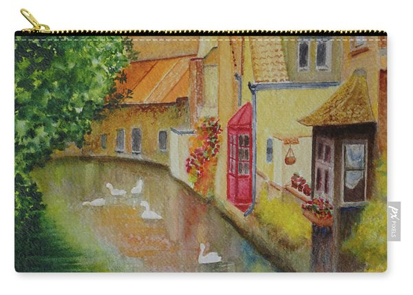 Swan Canal Carry-all Pouch