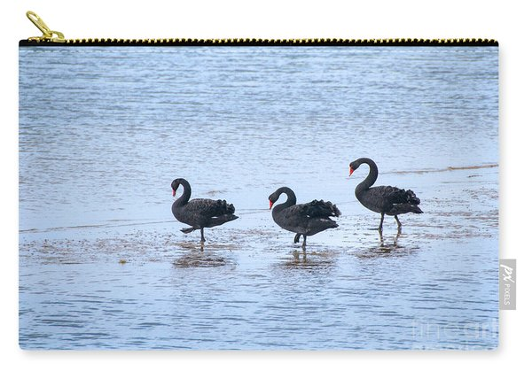 Swans On Parade Carry-all Pouch