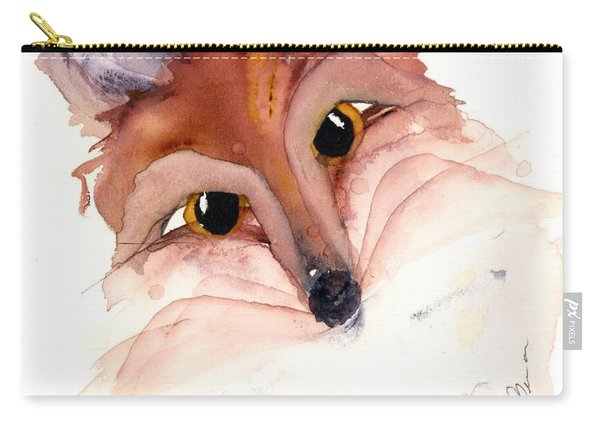 Sweet Fox Carry-all Pouch