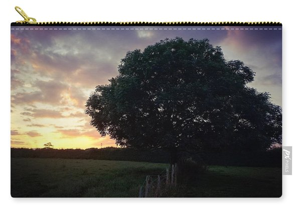 Symme Tree Sunrise Carry-all Pouch