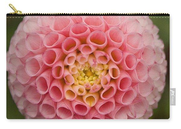 Symmetrical Dahlia Carry-all Pouch