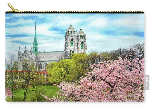 Symmetry In Spring Glory Carry-all Pouch