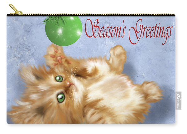 Tabby Greetings Carry-all Pouch
