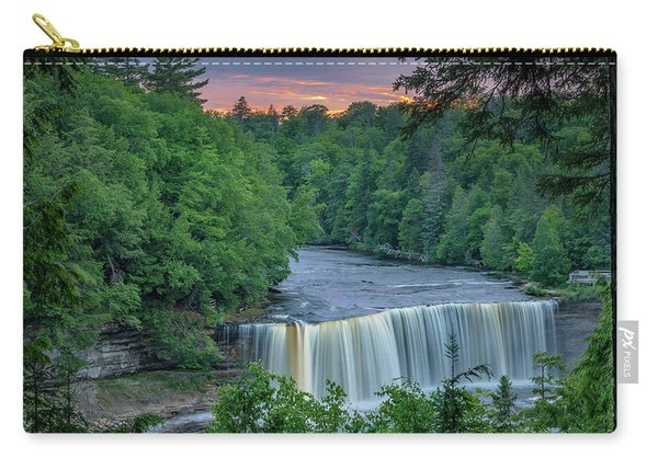 Tahquamenon Falls Sunset. Carry-all Pouch