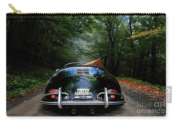 'taking The Scenic Road Way To Get Home.' 1958 Porsche 356a, 1600 Speedster Carry-all Pouch