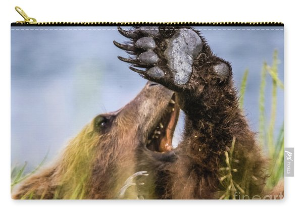 Talk To The Hand Carry-all Pouch