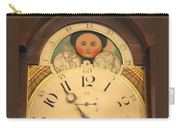 Tall Case Clock Face, Around 1816 Carry-all Pouch