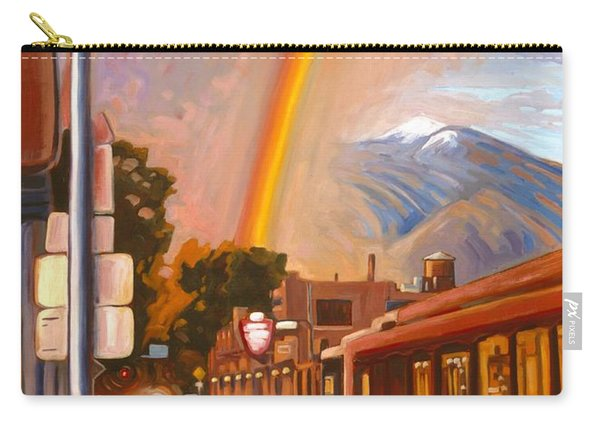 Taos Rainbow Carry-all Pouch