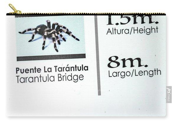 Tarantula Bridge Sign Carry-all Pouch