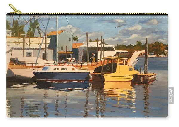 Tarpon Springs Harbour Carry-all Pouch