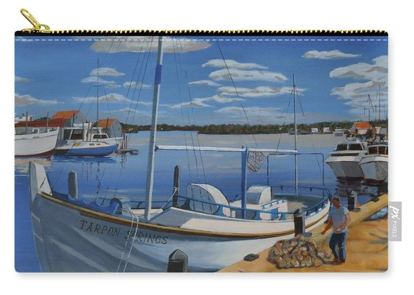 Tarpon Springs Sponger Carry-all Pouch