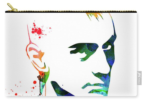 Taxi Driver Watercolor Carry-all Pouch