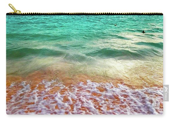 Teal Shore  Carry-all Pouch