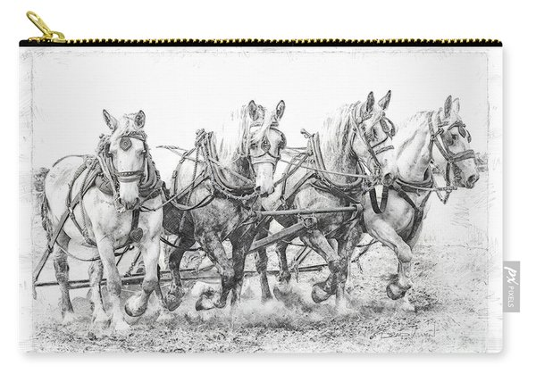 Team Work 2 Carry-all Pouch
