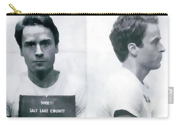 Ted Bundy Mug Shot Carry-all Pouch