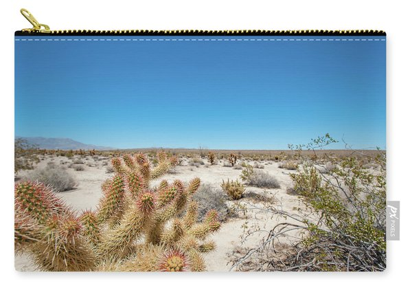 Teddy Bear Cactus Carry-all Pouch