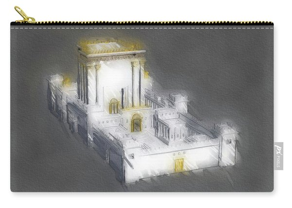 Temple Of Solomon Carry-all Pouch