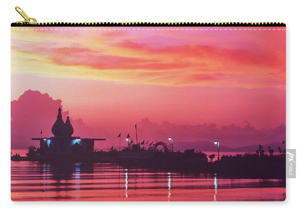 Temple On The Sea Carry-all Pouch