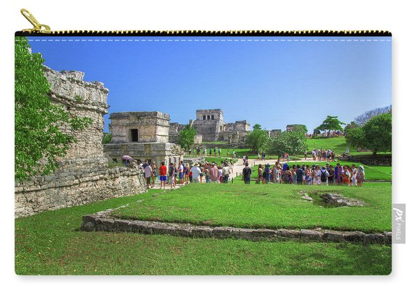 Temples Of Tulum Carry-all Pouch
