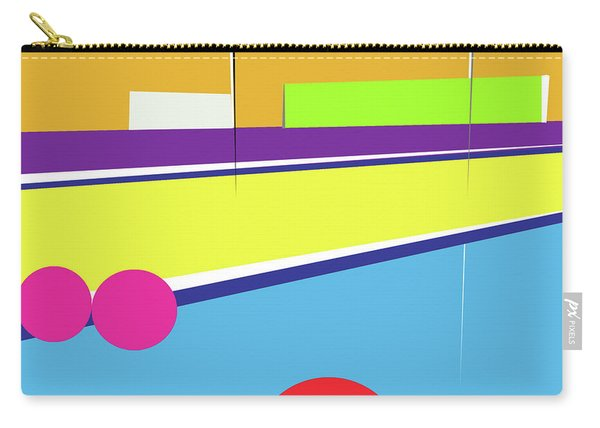 Tennis In Abstraction Carry-all Pouch