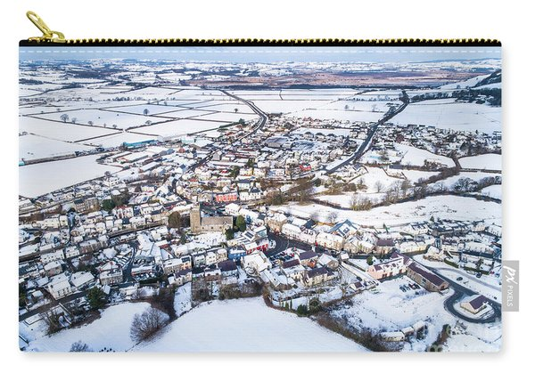Tregaron In The Snow, From The Air Carry-all Pouch