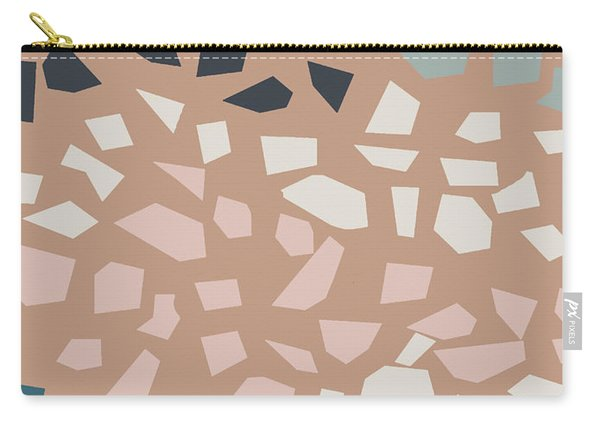 Terrazzo 4- Art By Linda Woods Carry-all Pouch
