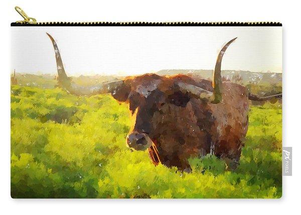 Texas Longhorn 2 Carry-all Pouch