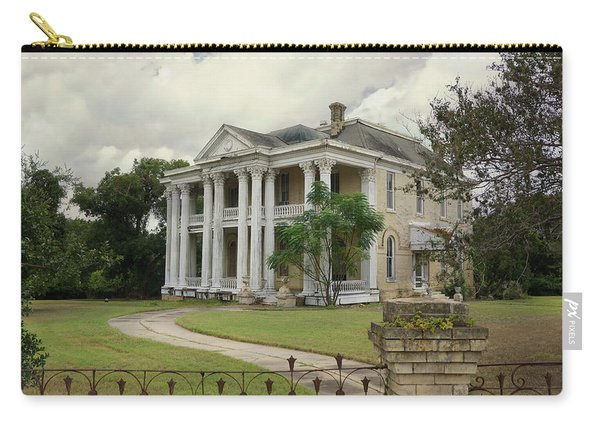 Texas Mansion In Ruin Carry-all Pouch