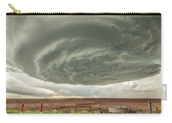 Texas Panhandle Wall Cloud Carry-all Pouch