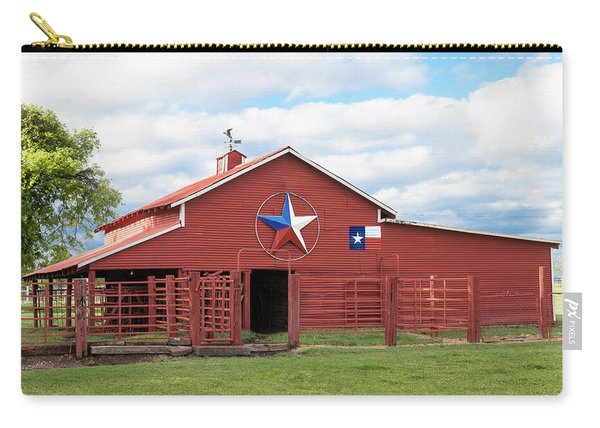 Texas Red Barn Carry-all Pouch