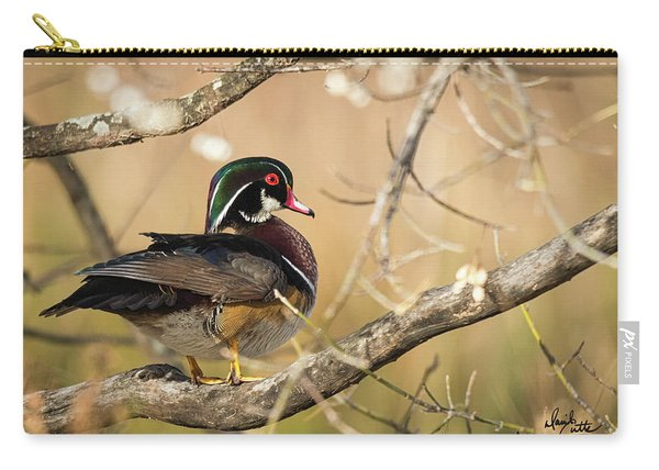 Texas Wood Duck Carry-all Pouch