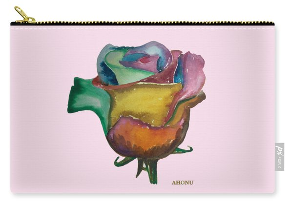 The 1111 Global Rose Carry-all Pouch