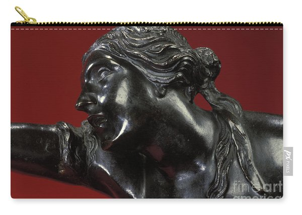 The Abduction Of Helen, 1683-86 Bronze Carry-all Pouch