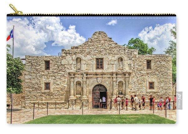 The Alamo, San Antonio Texas Carry-all Pouch